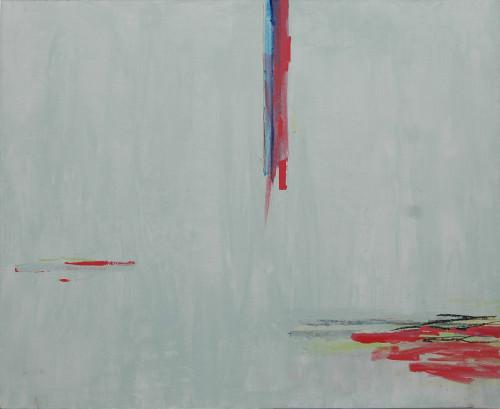 莊東橋 線性風景 2011 壓克力畫布 75x92.5cm
