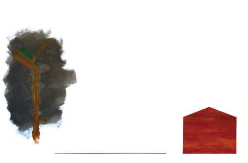 莊東橋 萬物再度呼吸 002 2012 壓克力畫布 130x194 cm