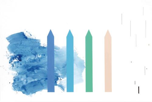 莊東橋 萬物再度呼吸 004 2012 壓克力畫布 130x194 cm