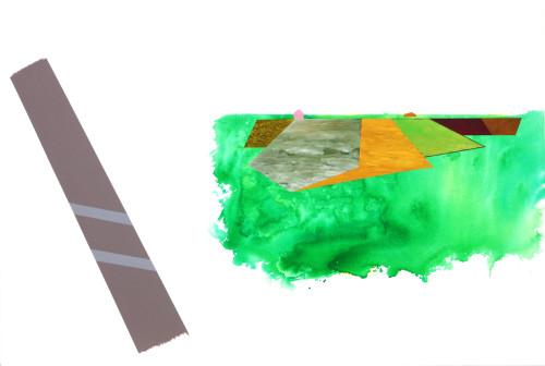 莊東橋 萬物再度呼吸 005 2012 壓克力畫布 130x194 cm