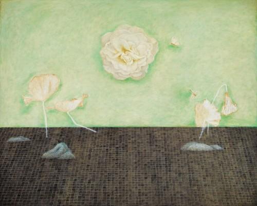 金芬華 秋色 油彩畫布 130x162cm