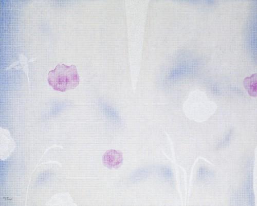 金芬華 水波如絲 油彩畫布 130x162cm