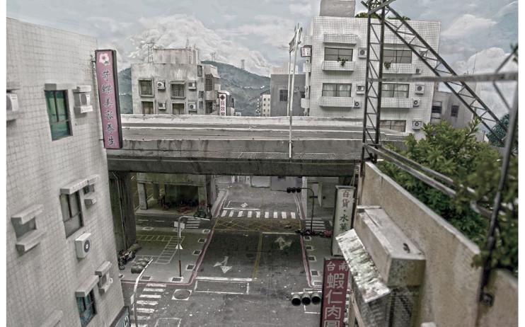 張立人  戰鬥之城 2012 錄像 6分55秒