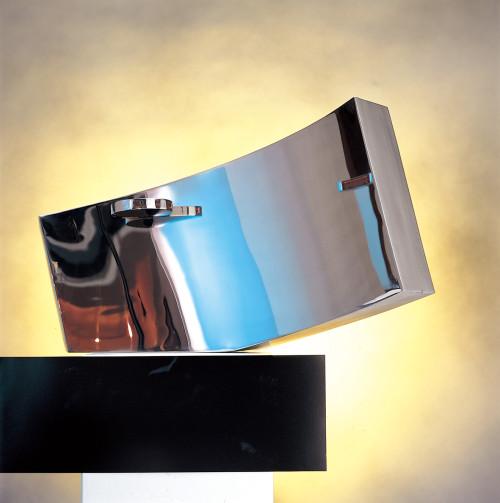 楊英風  分合隨緣  1983  不鏽鋼  77x135x43cm
